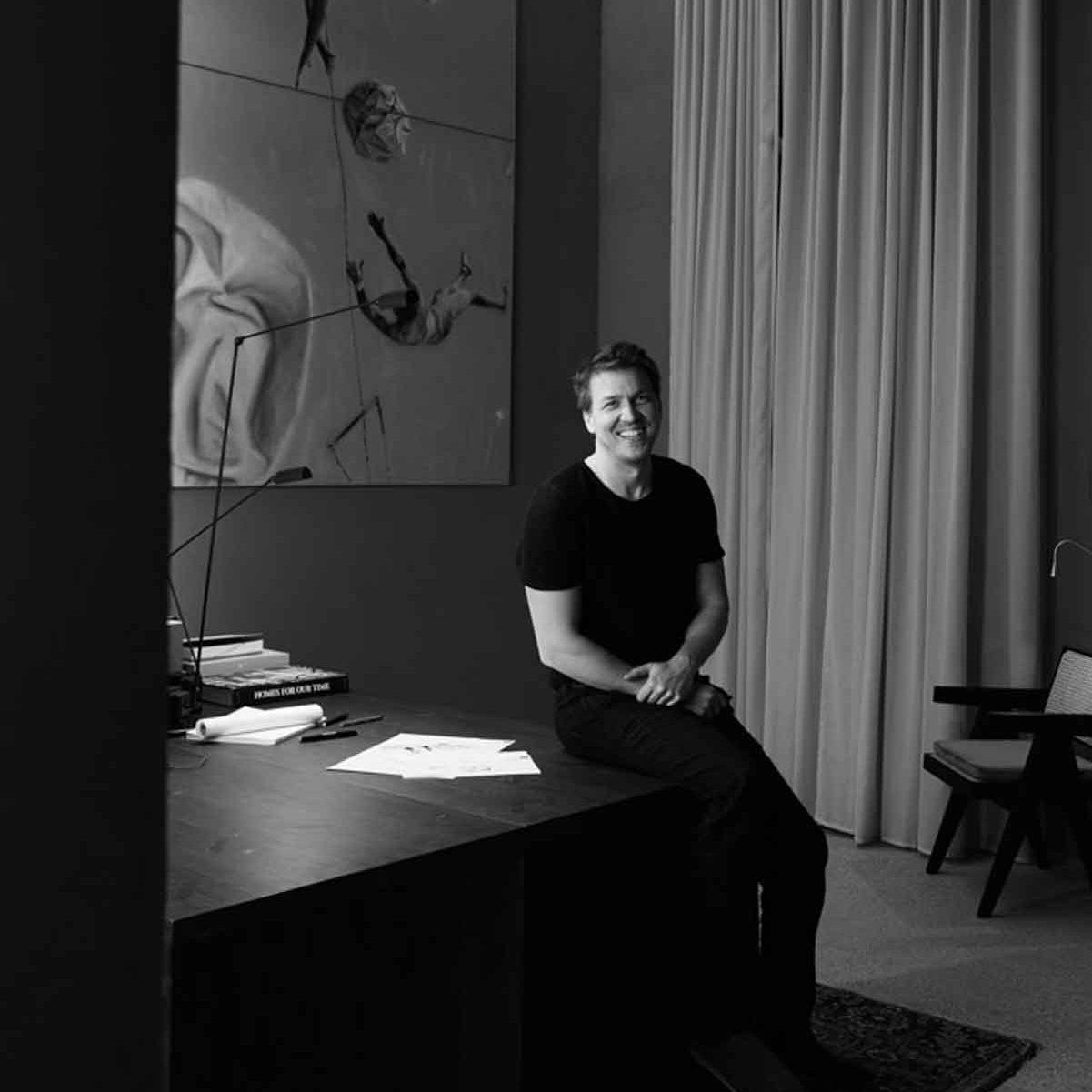 Portraitfoto von Michael Karasek, Architekt Baukooperative