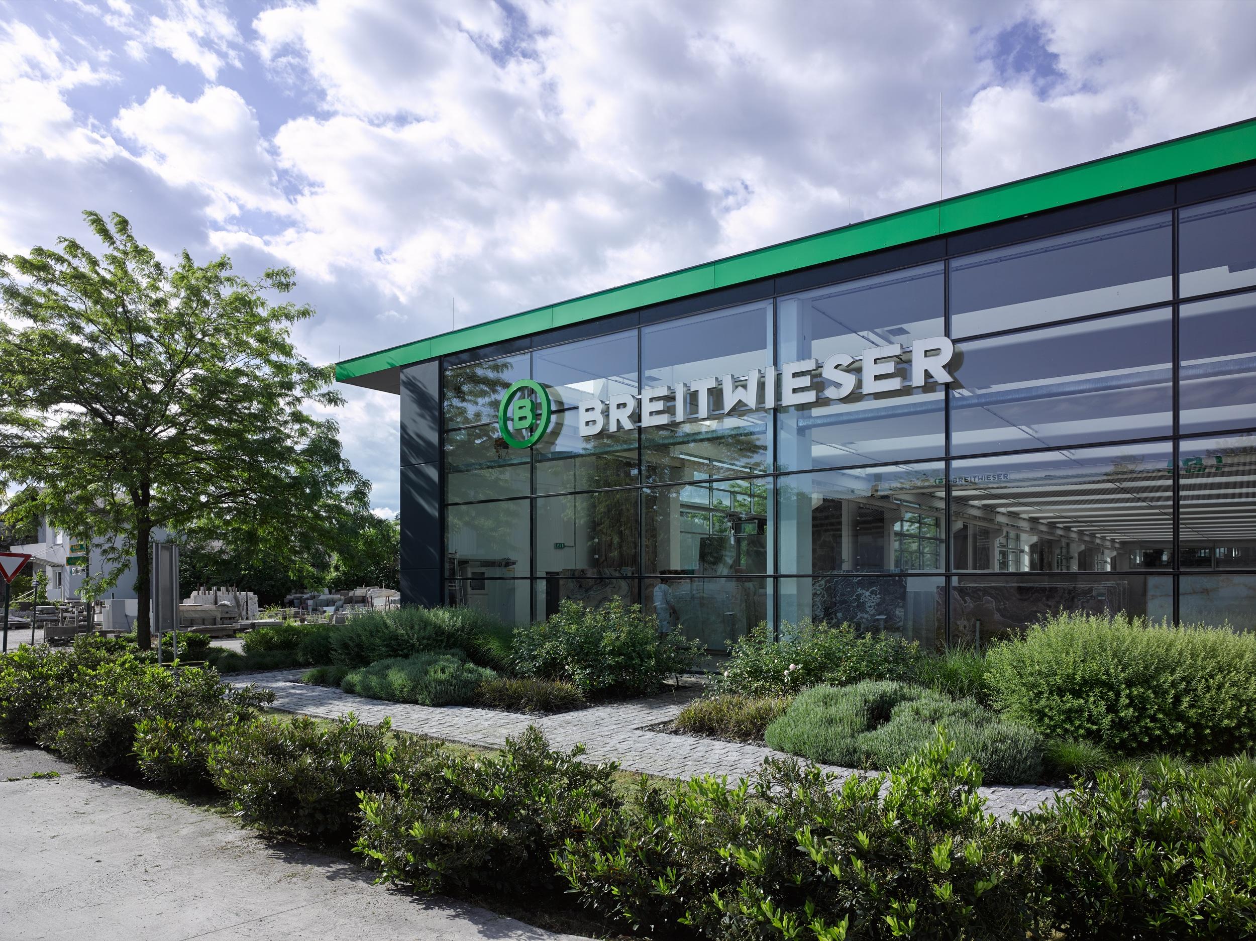 Headquarter von Breitwieser. Außenansicht.