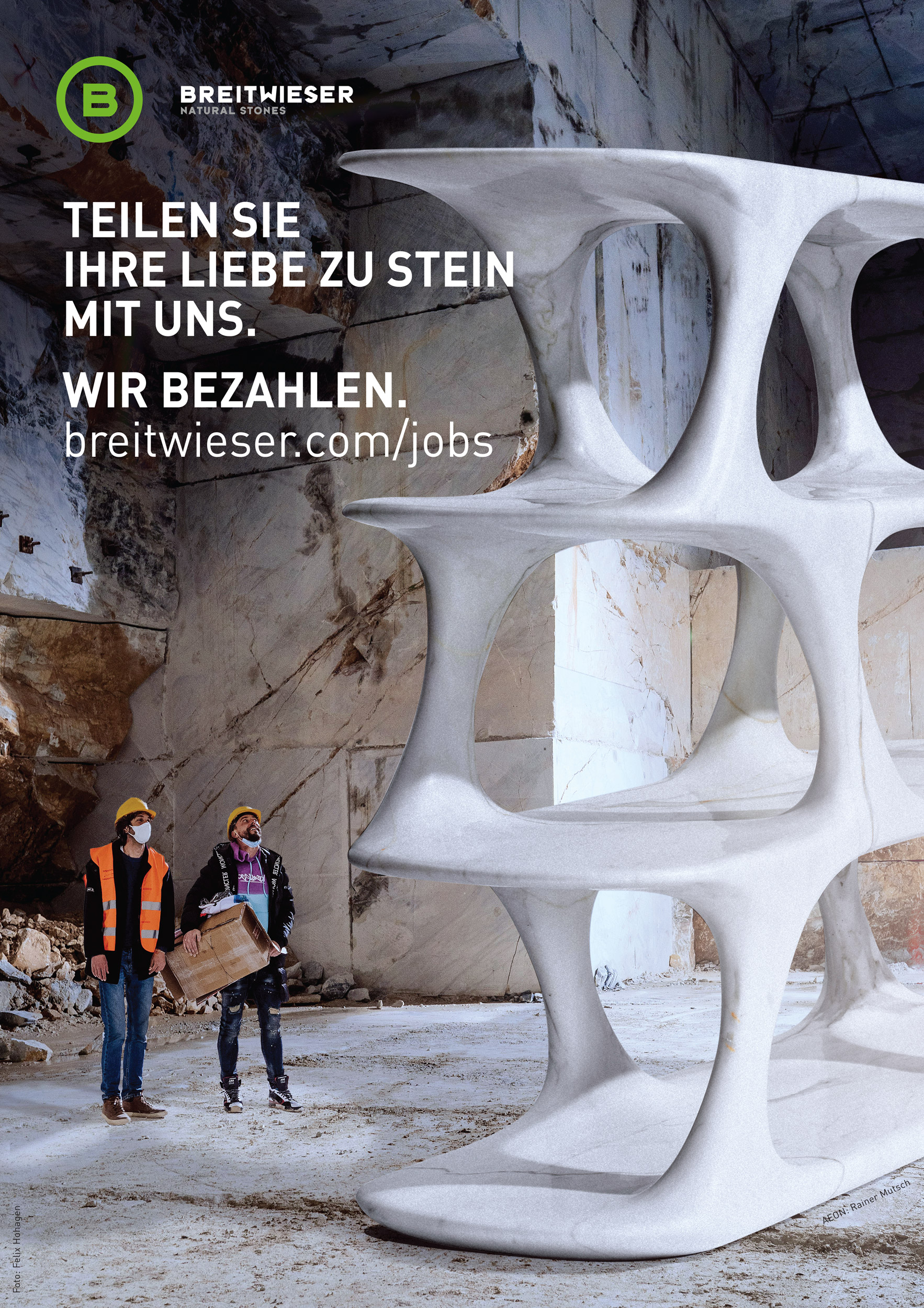 Jobs bei der Breitwieser GmbH – Breitwieser zählt mittlerweile zu Österreichs führenden Betrieben für die Verarbeitung und den internationalen Handel von exklusivem Naturstein.